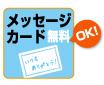 メッセージカード無料ok
