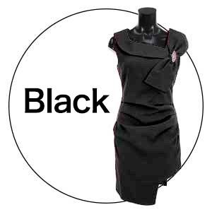 ララチュール 黒ドレス